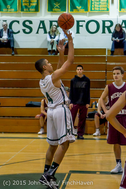 2396 Boys JV Basketball v Mercer-Isl 012516