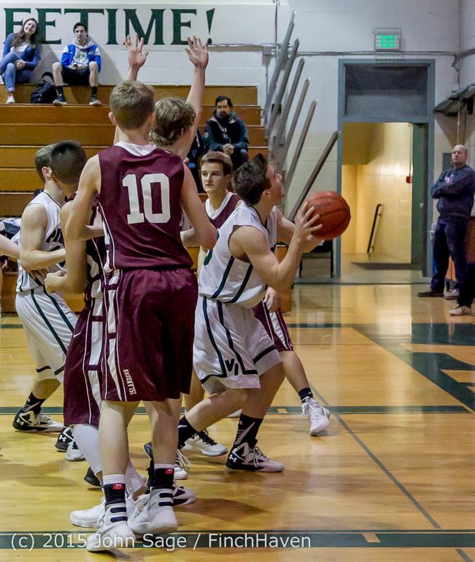 2434 Boys JV Basketball v Mercer-Isl 012516