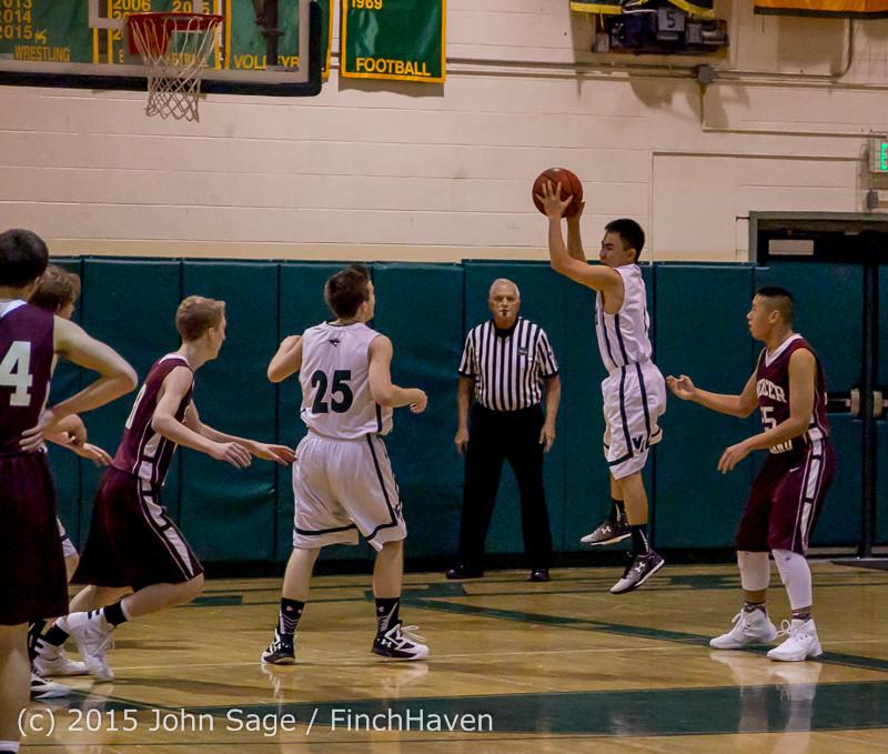 2467 Boys JV Basketball v Mercer-Isl 012516