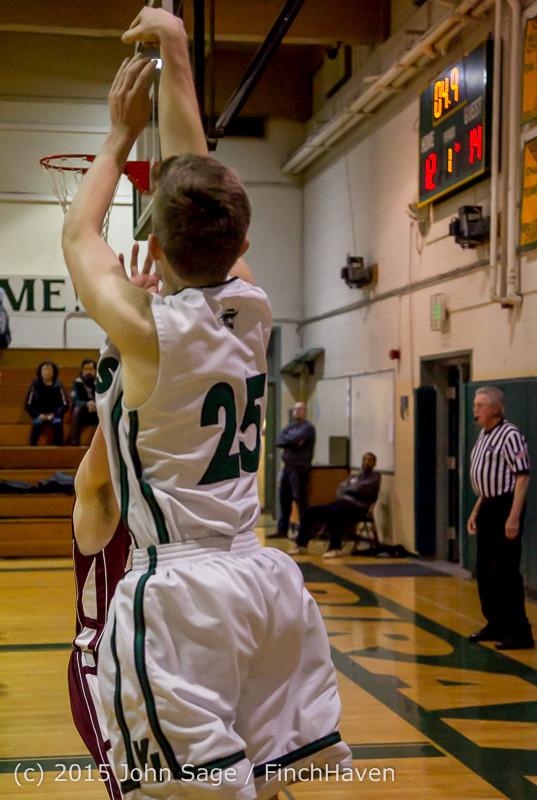 2473 Boys JV Basketball v Mercer-Isl 012516