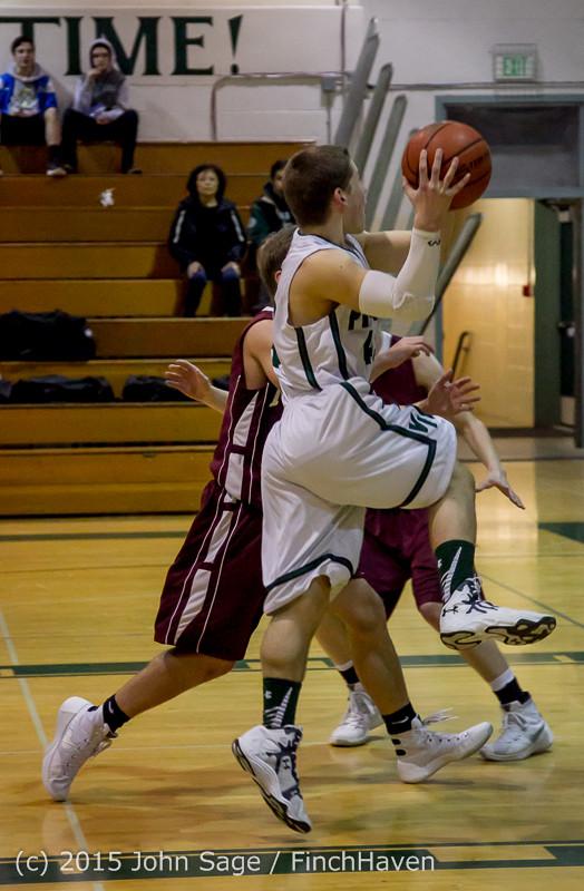 2524 Boys JV Basketball v Mercer-Isl 012516