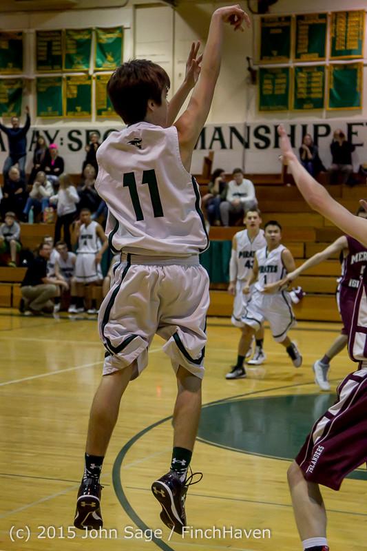 2582 Boys JV Basketball v Mercer-Isl 012516