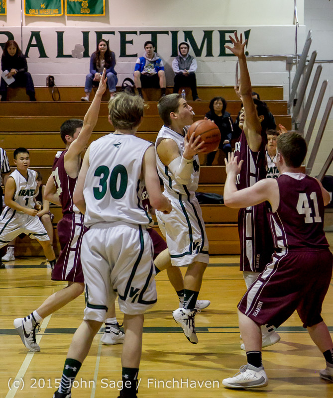 2696 Boys JV Basketball v Mercer-Isl 012516