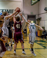 2705 Boys JV Basketball v Mercer-Isl 012516