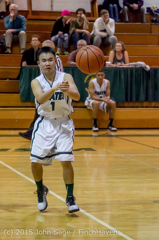 2818 Boys JV Basketball v Mercer-Isl 012516