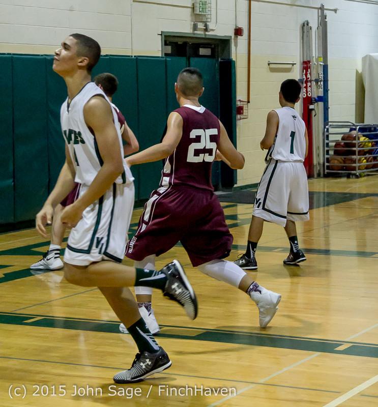 2878 Boys JV Basketball v Mercer-Isl 012516