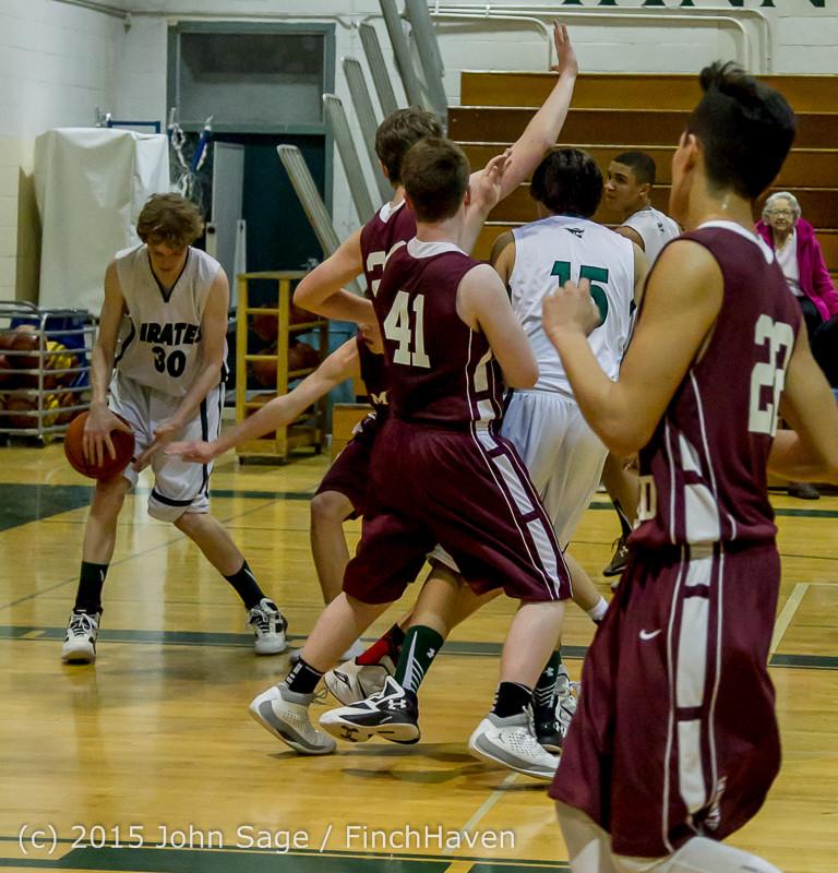 2907 Boys JV Basketball v Mercer-Isl 012516
