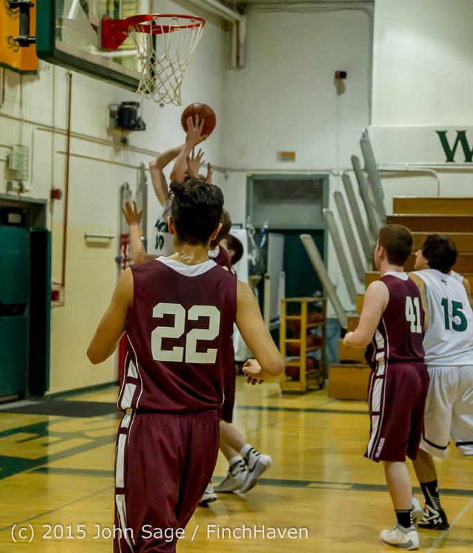 2909 Boys JV Basketball v Mercer-Isl 012516