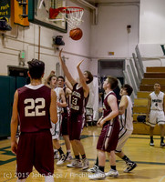 2915 Boys JV Basketball v Mercer-Isl 012516