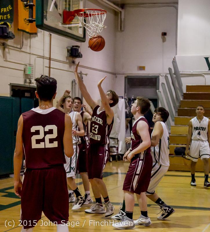 2915 Boys JV Basketball v Mercer-Isl 012516