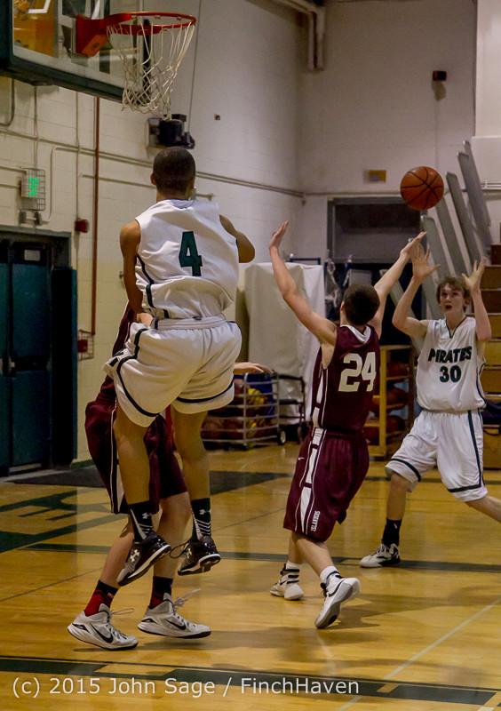 2932 Boys JV Basketball v Mercer-Isl 012516