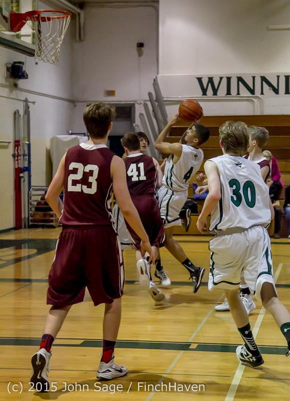 2963 Boys JV Basketball v Mercer-Isl 012516