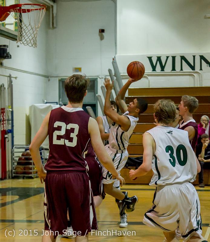 2964 Boys JV Basketball v Mercer-Isl 012516