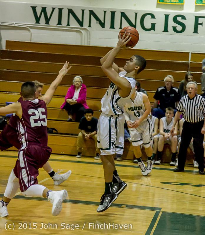 3037 Boys JV Basketball v Mercer-Isl 012516