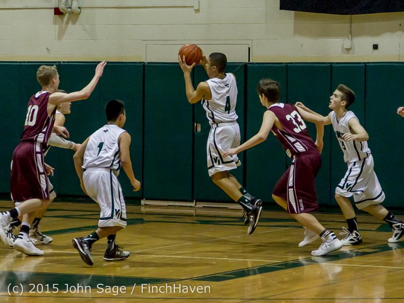 3049 Boys JV Basketball v Mercer-Isl 012516