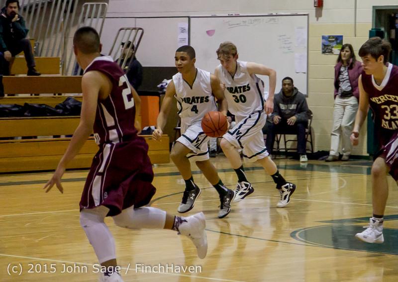3061 Boys JV Basketball v Mercer-Isl 012516