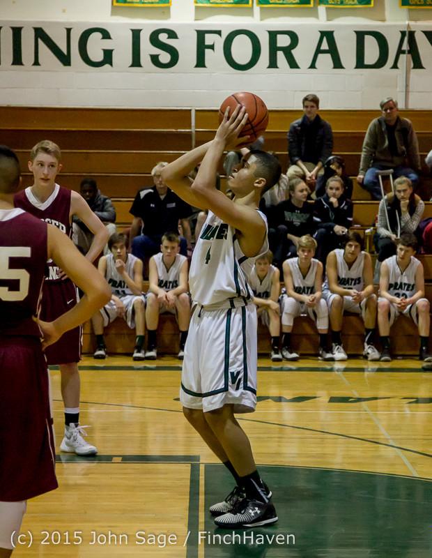 3082 Boys JV Basketball v Mercer-Isl 012516