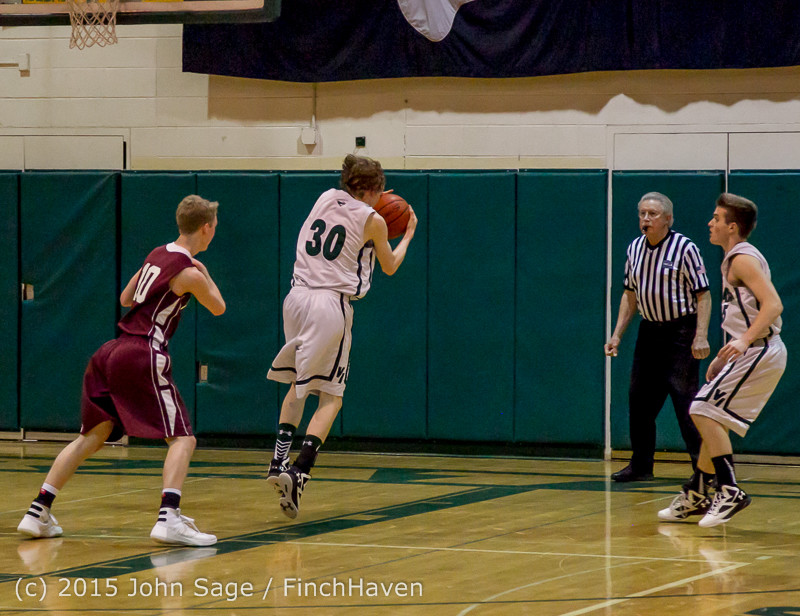 3108 Boys JV Basketball v Mercer-Isl 012516