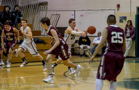 3126 Boys JV Basketball v Mercer-Isl 012516