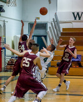 3149 Boys JV Basketball v Mercer-Isl 012516