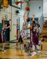 3155 Boys JV Basketball v Mercer-Isl 012516