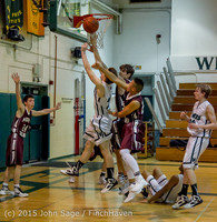 3157 Boys JV Basketball v Mercer-Isl 012516