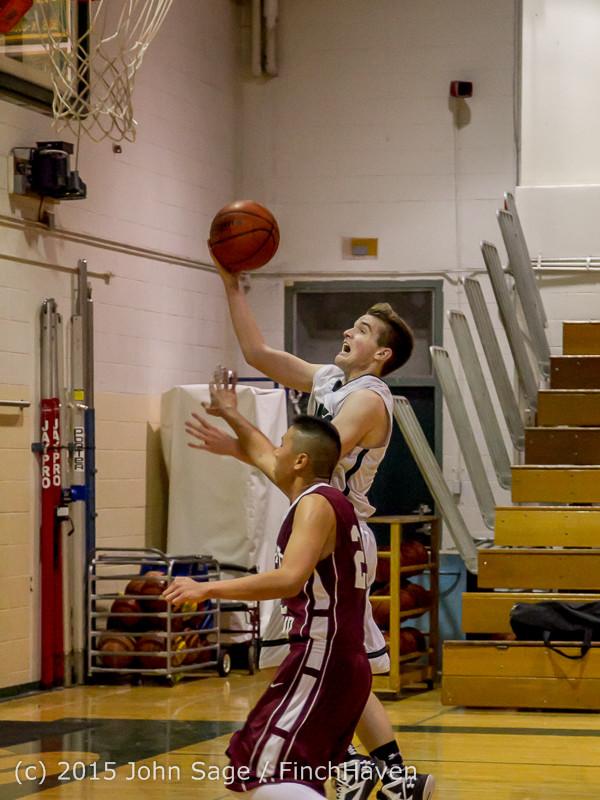 3192 Boys JV Basketball v Mercer-Isl 012516