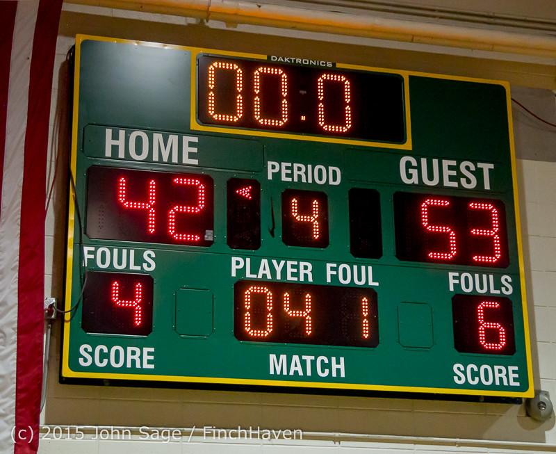 3241 Boys JV Basketball v Mercer-Isl 012516