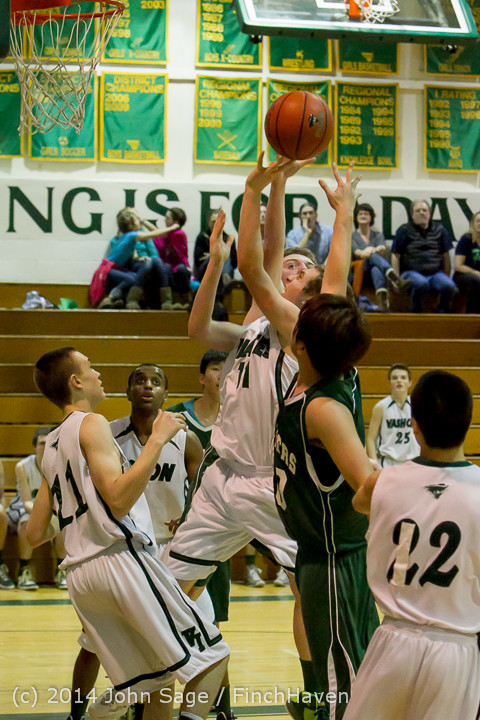 16928 Boys JV Basketball v CWA 01172014