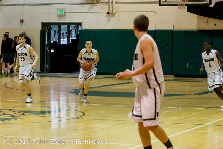 16977 Boys JV Basketball v CWA 01172014