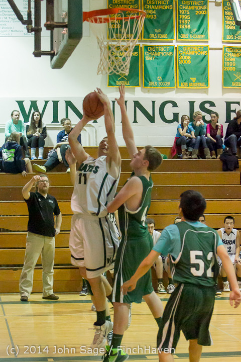 17051 Boys JV Basketball v CWA 01172014