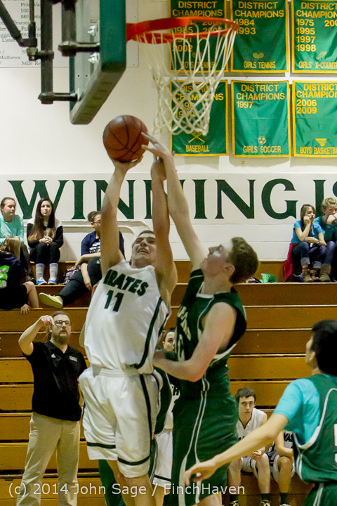17052 Boys JV Basketball v CWA 01172014