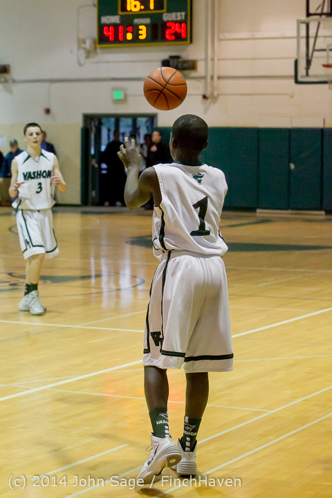17082 Boys JV Basketball v CWA 01172014