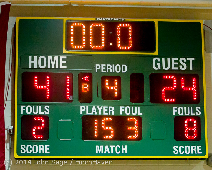 17106 Boys JV Basketball v CWA 01172014