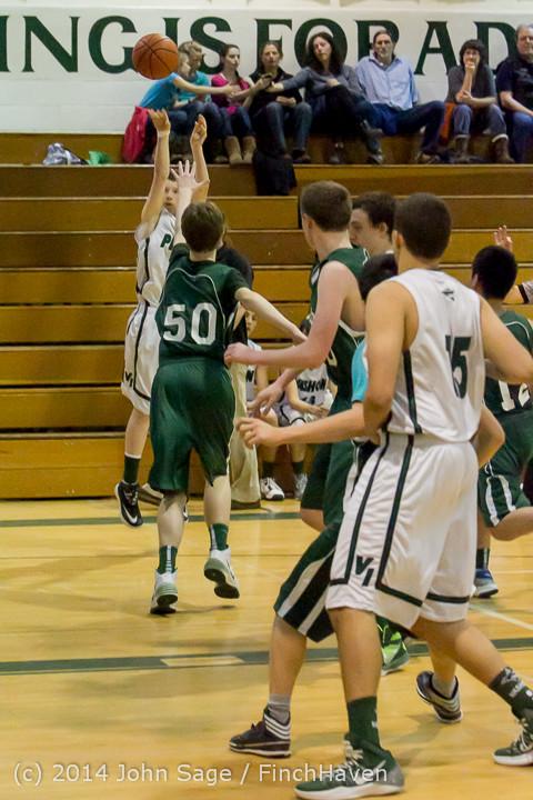 17116 Boys JV Basketball v CWA 01172014