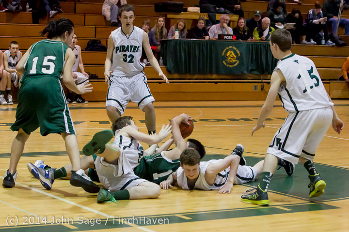 17122 Boys JV Basketball v CWA 01172014