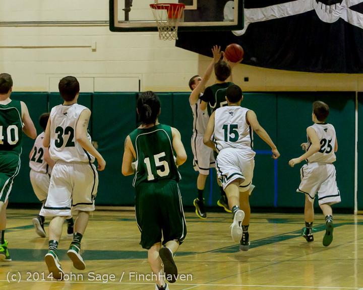 17162 Boys JV Basketball v CWA 01172014