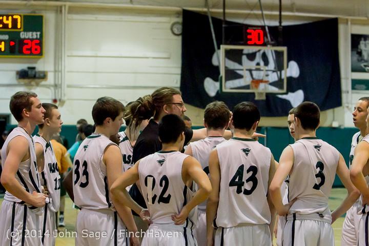 17197 Boys JV Basketball v CWA 01172014