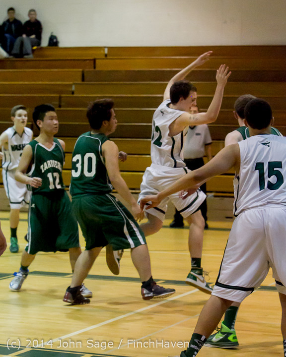 17223 Boys JV Basketball v CWA 01172014
