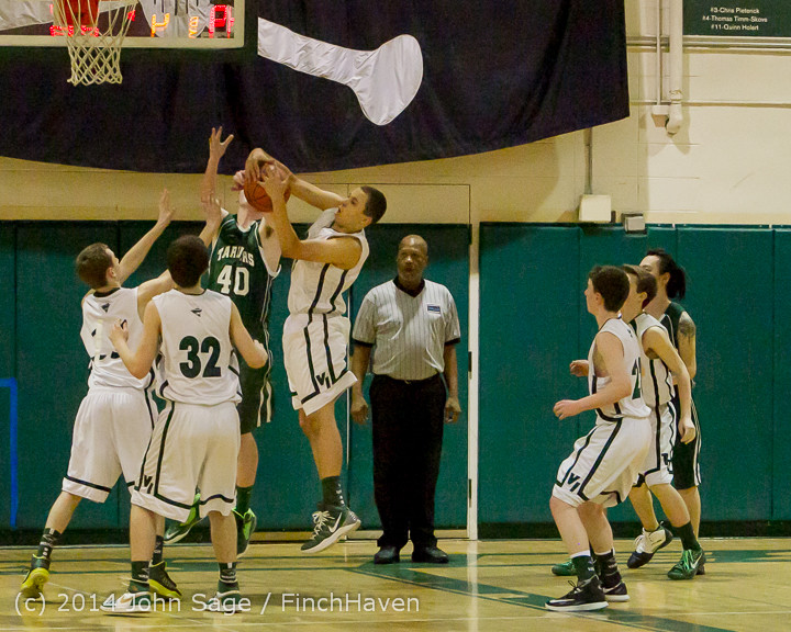 17244 Boys JV Basketball v CWA 01172014