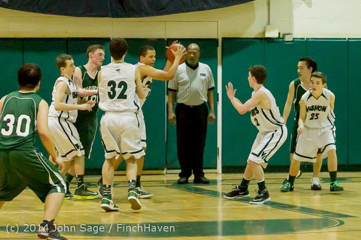 17249 Boys JV Basketball v CWA 01172014