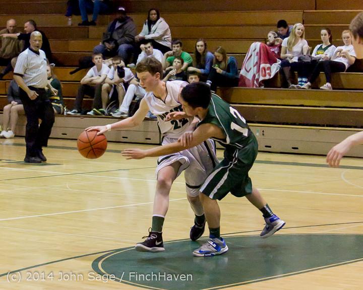 17297 Boys JV Basketball v CWA 01172014