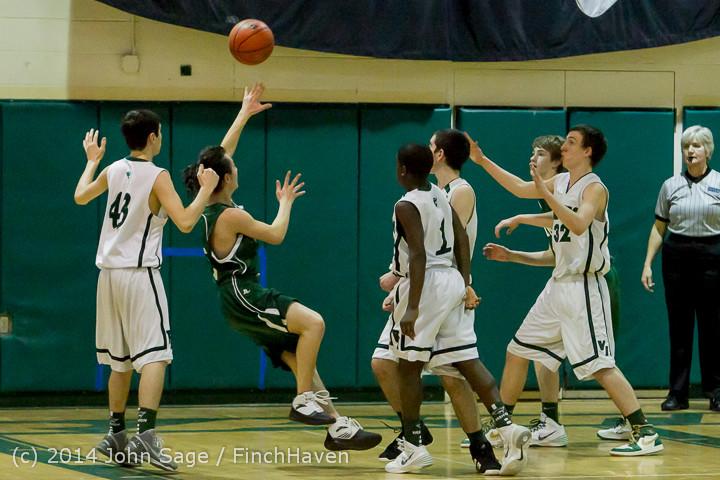 17384 Boys JV Basketball v CWA 01172014