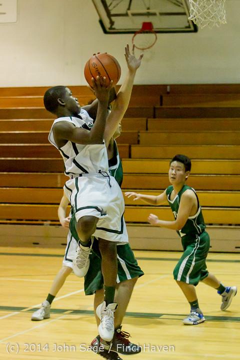 17403 Boys JV Basketball v CWA 01172014