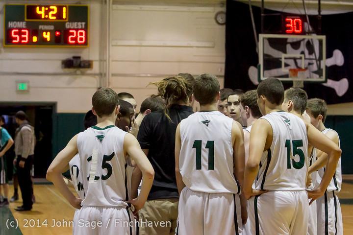 17437 Boys JV Basketball v CWA 01172014