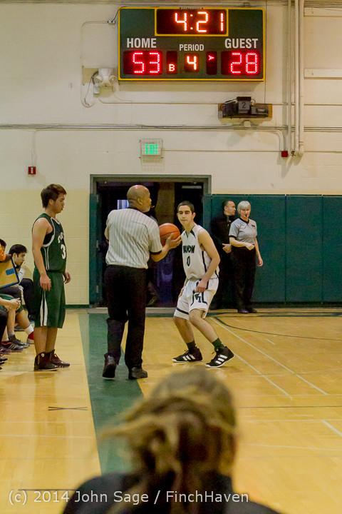 17453 Boys JV Basketball v CWA 01172014