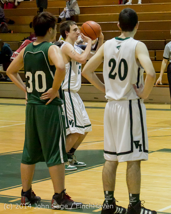 17484 Boys JV Basketball v CWA 01172014