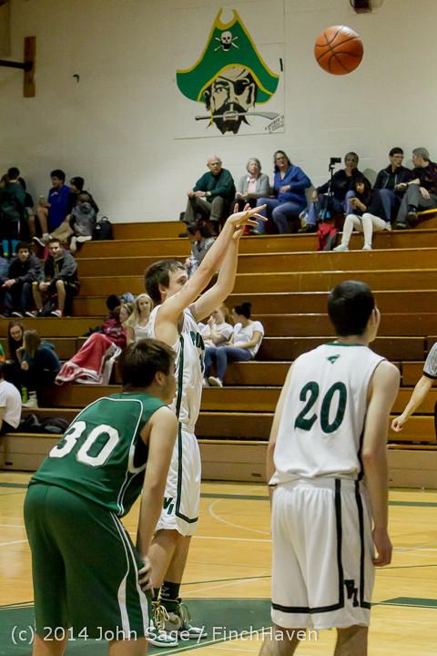 17505 Boys JV Basketball v CWA 01172014