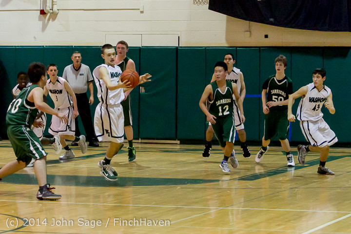 17533 Boys JV Basketball v CWA 01172014