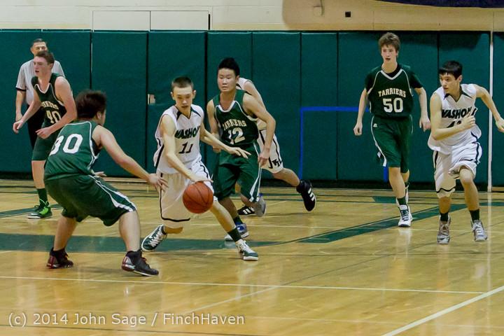 17536 Boys JV Basketball v CWA 01172014